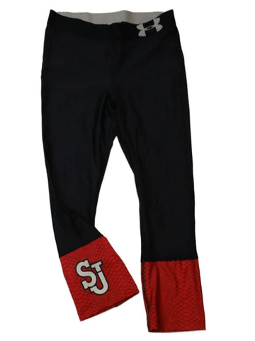 Shop St. Johns Red Storm Under Armour Heatgear WOMENS Compression Capri Pants (M)