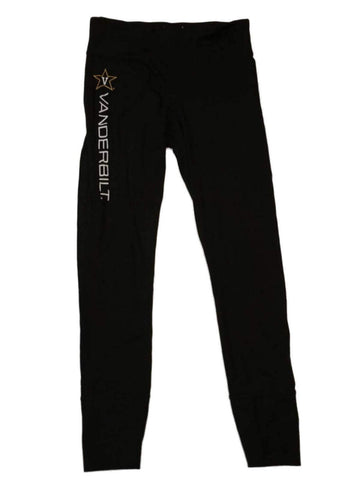 Shop Vanderbilt Commodores Champion PowerTrain WOMENS Black Legging Style Pants (M)