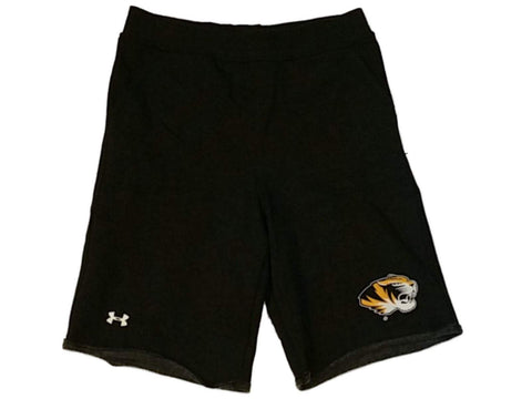 Missouri Tigers Under Armour WOMENS Charcoal Gray Sweatpant Style Shorts (M)