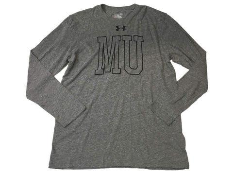 Shop Missouri Tigers Under Armour UA Gray HeatGear Loose Long Sleeve T-Shirt (L)