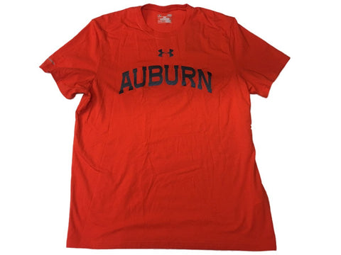 Shop Auburn Tigers Under Armour UA Orange HeatGear Loose Short Sleeve T-Shirt (L)