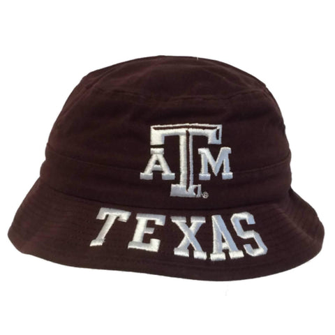 Texas A&M Aggies Adidas BOYS Maroon Embroidered Bucket Hat Cap (4-7)