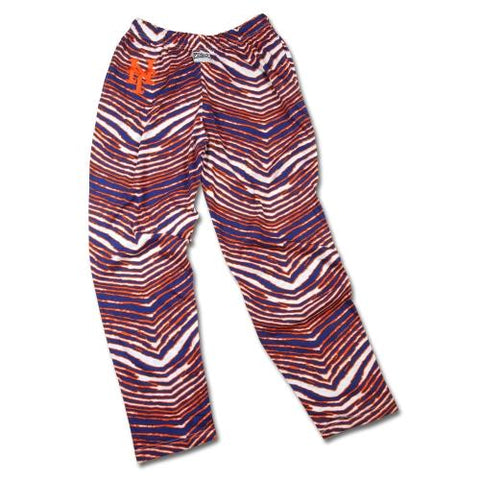 Shop New York Mets ZUBAZ Orange Blue White Vintage Style Zebra Pants - Sporting Up
