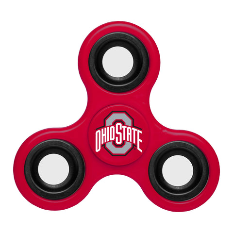 Shop Ohio State Buckeyes NCAA Red Three Way Diztracto Fidget Hand Spinner