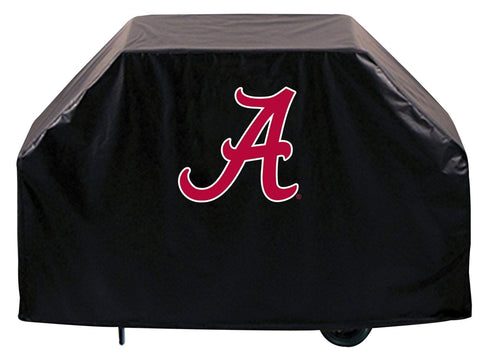 "Alabama Crimson Tide HBS Black ""A"" Outdoor Heavy Duty BBQ Grill Cover"