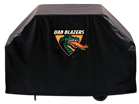 UAB Blazers HBS Black Outdoor Heavy Duty Breathable Vinyl BBQ Grill Cover