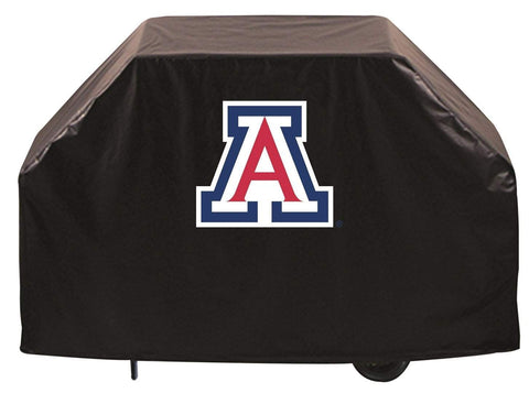 Arizona Wildcats HBS Black Outdoor Heavy Duty Breathable Vinyl BBQ Grill Cover