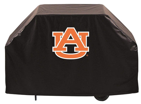 Shop Auburn Tigers HBS Black Outdoor Heavy Duty Breathable Vinyl BBQ Grill Cover - Sporting Up