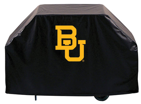 Shop Baylor Bears HBS Black Outdoor Heavy Duty Breathable Vinyl BBQ Grill Cover