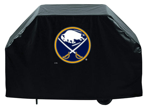 Shop Buffalo Sabres HBS Black Outdoor Heavy Duty Breathable Vinyl BBQ Grill Cover