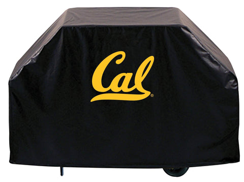 California Golden Bears HBS Black Outdoor Heavy Duty Vinyl BBQ Grill Cover