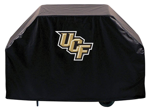 UCF Knights HBS Black Outdoor Heavy Duty Breathable Vinyl BBQ Grill Cover