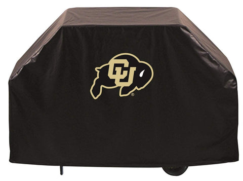Colorado Buffaloes HBS Black Outdoor Heavy Duty Breathable Vinyl BBQ Grill Cover
