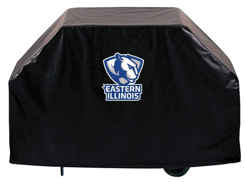 Eastern Illinois Panthers HBS Black Outdoor Heavy Duty Vinyl BBQ Grill Cover