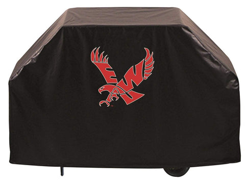 Eastern Washington Eagles HBS Black Outdoor Heavy Duty Vinyl BBQ Grill Cover
