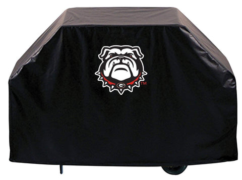 Georgia Bulldogs HBS Black Dog Outdoor Heavy Duty Vinyl BBQ Grill Cover
