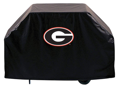 "Georgia Bulldogs HBS Black ""G"" Outdoor Heavy Duty Vinyl BBQ Grill Cover"
