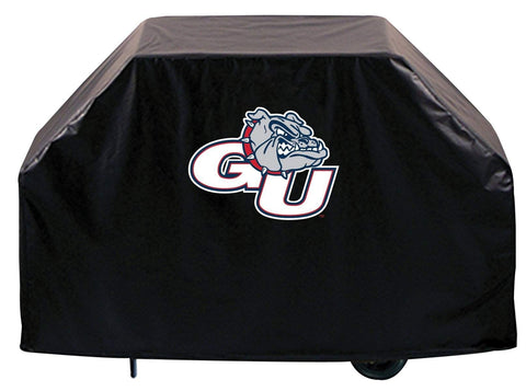 Gonzaga Bulldogs HBS Black Outdoor Heavy Duty Breathable Vinyl BBQ Grill Cover