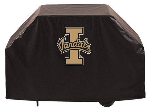 Idaho Vandals HBS Black Outdoor Heavy Duty Breathable Vinyl BBQ Grill Cover