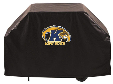Kent State Golden Flashes HBS Black Outdoor Heavy Duty Vinyl BBQ Grill Cover - Sporting Up