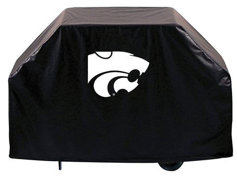 Shop Kansas State Wildcats HBS Black Outdoor Heavy Duty Vinyl BBQ Grill Cover - Sporting Up