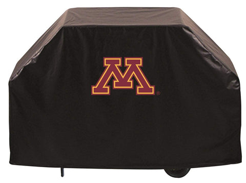 Minnesota Golden Gophers HBS Black Outdoor Heavy Duty Vinyl BBQ Grill Cover