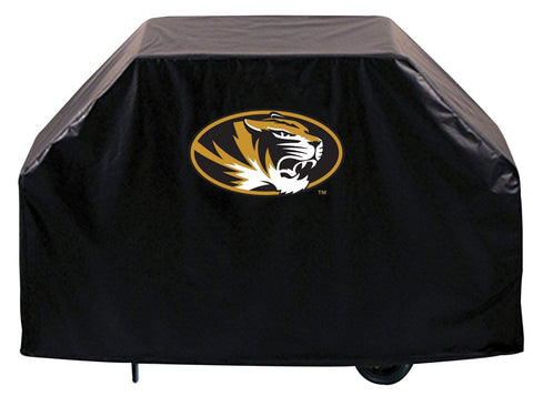 Shop Missouri Tigers HBS Black Outdoor Heavy Duty Breathable Vinyl BBQ Grill Cover - Sporting Up