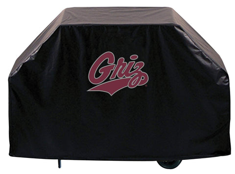Montana Grizzlies HBS Black Outdoor Heavy Duty Breathable Vinyl BBQ Grill Cover