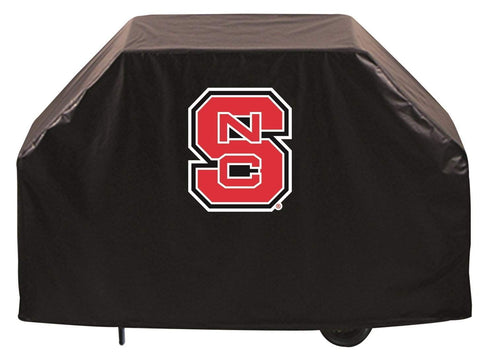 NC State Wolfpack HBS Black Outdoor Heavy Duty Breathable Vinyl BBQ Grill Cover