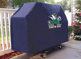 Notre Dame Fighting Irish HBS Navy Outdoor Leprechaun Vinyl BBQ Grill Cover - Sporting Up