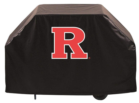Rutgers Scarlet Knights HBS Black Outdoor Heavy Duty Vinyl BBQ Grill Cover