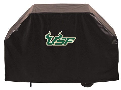 South Florida Bulls HBS Black Outdoor Heavy Duty Vinyl BBQ Grill Cover