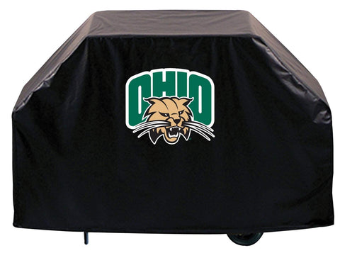 Ohio Bobcats HBS Black Outdoor Heavy Duty Breathable Vinyl BBQ Grill Cover