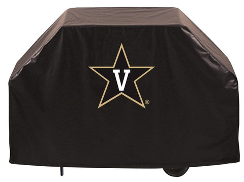 Vanderbilt Commodores HBS Black Outdoor Heavy Duty Vinyl BBQ Grill Cover