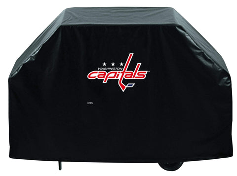 Shop Washington Capitals HBS Black Outdoor Heavy Duty Vinyl BBQ Grill Cover - Sporting Up