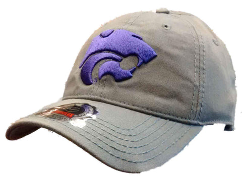 Shop Kansas State Wildcats OC Sports Gray Legacy Flexfit Hat Cap (M/L)