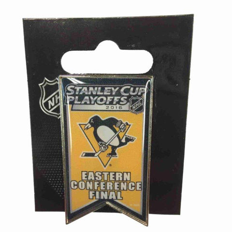 Pittsburgh Penguins 2016 Eastern Conference Finals NHL Playoffs Metal Lapel Pin