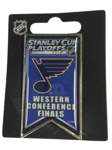 St. Louis Blues 2016 Western Conference Finals NHL Playoffs Metal Lapel Pin
