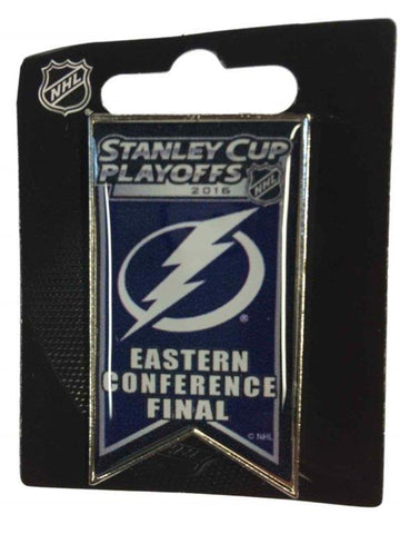 Tampa Bay Lightning 2016 Eastern Conference Finals NHL Playoffs Metal Lapel Pin