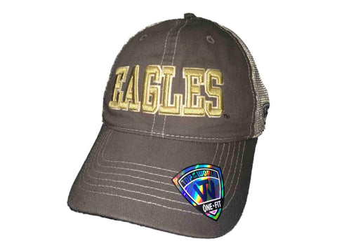 on sale ec34a adfd0 ... shop boston college eagles tow gray putty two tone mesh one fit flexfit hat  cap 2b74f