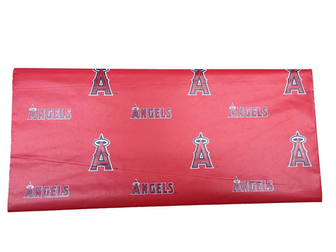 "Shop Los Angeles Angels of Anaheim Wrapping Paper Red (30""x20"")"