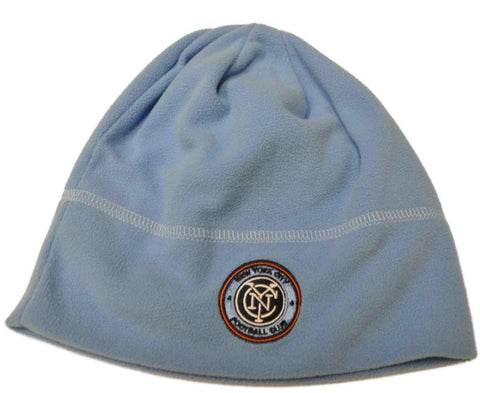 New York City FC Mitchell & Ness MLS Baby Blue Fleece Hat Cap Beanie