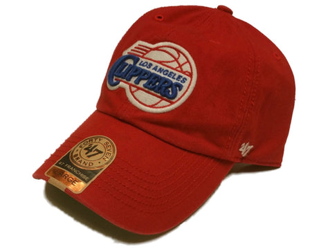 Los Angeles Clippers 47 Brand Franchise Classic Red NBA Slouch Hat Cap
