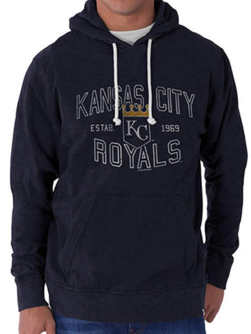 Shop Kansas City Royals 47 Brand Fall Navy Slugger Hoodie Sweatshirt