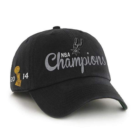 San Antonio Spurs 47 Brand Franchise 2014 NBA Champs Trophy Fitted Hat Cap