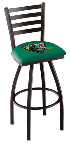 UAB Blazers HBS Green Ladder Back High Top Swivel Bar Stool Seat Chair