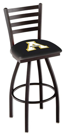 Shop Appalachian State Mountaineers HBS Ladder Back Swivel Bar Stool Seat Chair - Sporting Up