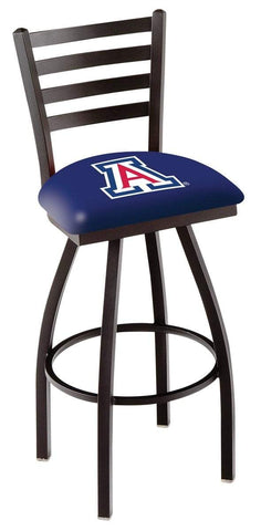 Arizona Wildcats HBS Navy Ladder Back High Top Swivel Bar Stool Seat Chair