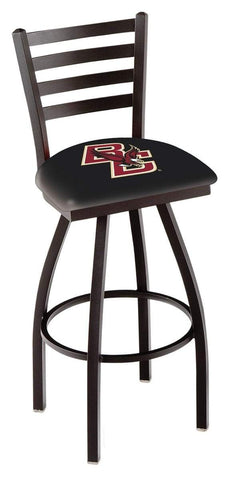 Shop Boston College Eagles HBS Ladder Back High Top Swivel Bar Stool Seat Chair