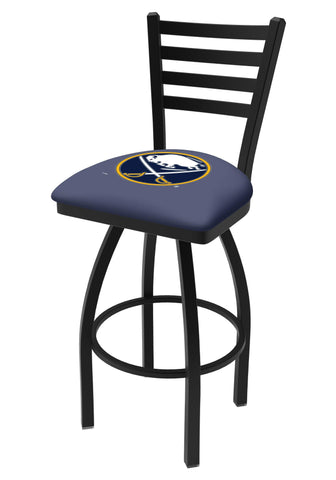Shop Buffalo Sabres HBS Navy Ladder Back High Top Swivel Bar Stool Seat Chair - Sporting Up
